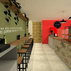 مطاعم تنفيذ Arquiteca Projetos Afetivos