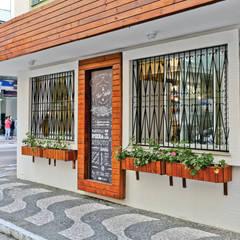Restaurantes de estilo  por Cor3D Projetos de Interiores