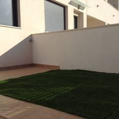 ANTES DE LA REFORMA: Terrazas de estilo  de ALARCA. Interiorismo&Hogar