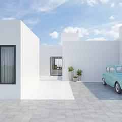 Detached home by La Pecera Estudio Creativo