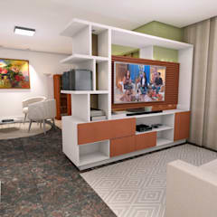 Media room by Ladrilho Urbanismo e Arquitetura