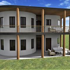 Casa Valencia: Casas de campo de estilo  por ARGAL Arquitectura-Arte-Diseño