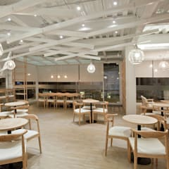 金礦咖啡︱興業店:  餐廳 by Zendo 深度空間設計