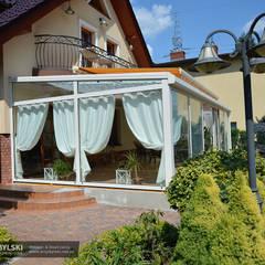 Ogród zimowy realizacja: styl , w kategorii Ogród zimowy zaprojektowany przez P.W. Przybylski