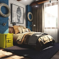 Boys Bedroom by Diveev_studio#ZI,