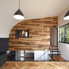 個性を持たせた壁: BDA.T / ボーダレスドローが手掛けた壁です。
