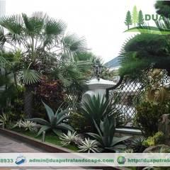 Dua Putra Landscapeが手掛けたアプローチ