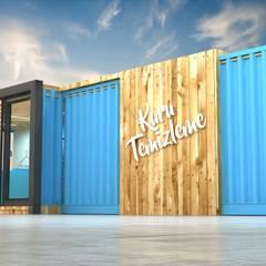 Next Container – Next Container -  40 Ft Kuru Temizleme:  tarz Prefabrik ev