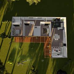 Casas prefabricadas de estilo  por Discovercasa | Casas de Madeira & Modulares