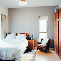 Kensington Hill:  Bedroom by The Realizes Co