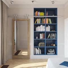Projekty,  Pokój dla chłopca zaprojektowane przez Татьяна Аверкина
