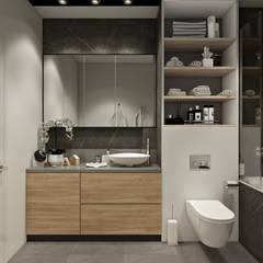 Санузел: Ванные комнаты в . Автор – Татьяна Аверкина