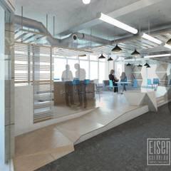 Coffe y Loungue. Espacio del Deck.: Oficinas de estilo  por Eisen Arquitecto