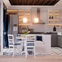 Столовая-Кухня: Столовые комнаты в . Автор – Design Service