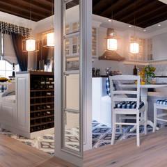 Кухня: Столовые комнаты в . Автор – Design Service