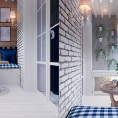 Квартира по ул. Аэродромная: Tерраса в . Автор – Design Service
