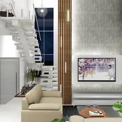 Escadas  por homify, Moderno