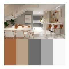 Casa RN-17: Salas de jantar  por Agenor Gomes Arquitetura + Design