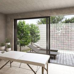 Villanza Senior Living: Spa de estilo  por Mouret Arquitectura