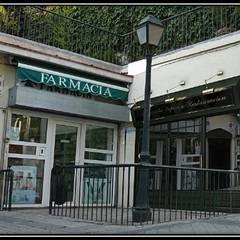 Escaparate-Fachada, Madrid, España: Espacios comerciales de estilo  por Pancho R. Ochoa Interiorismo