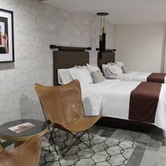 HOTEL ARBOREA: Hoteles de estilo  por MONTAUDON INTERIORISMO, Moderno