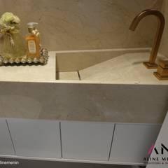 Lavabo: Banheiros  por Aline Menin Arquitetura