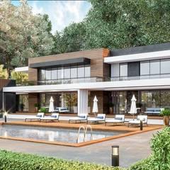 VERO CONCEPT MİMARLIK – Saleh Khamis Villa - Sapanca: modern tarz Evler