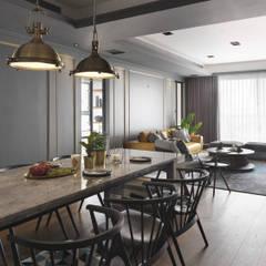 Dining room by 御見設計企業有限公司