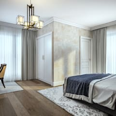 yücel partners – S&E Esnafoglu Evi:  tarz Yatak Odası,