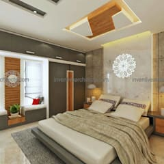Interior Project:  Bedroom by Inventivearchitects