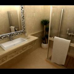 Örümcek Mimarlık – ÖRÜMCEK MİMARLIK: rustik tarz tarz Banyo