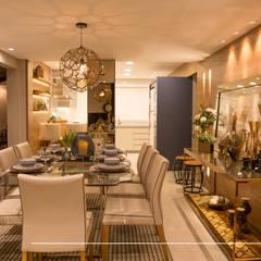 living goumet: Salas de jantar clássicas por Taciana Nakalski arquitetura e interiores