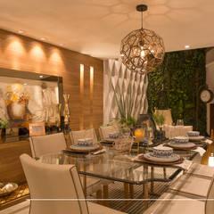 Living Gourmet: Salas de jantar clássicas por Taciana Nakalski arquitetura e interiores