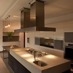 CASA DEL AGUA: Cocinas de estilo  por Almazán y Arquitectos Asociados