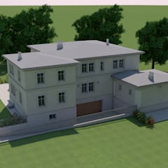 Projekty,  Willa zaprojektowane przez Studio Paoletti