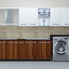 Modular Kitchen Interior Design:  Kitchen units by Vinra Interiors