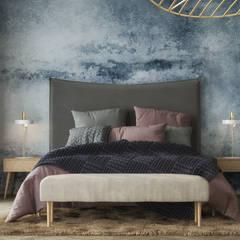 Scandinavian Master Bedroom: Dormitorios de estilo  de Isabel Gomez Interiors