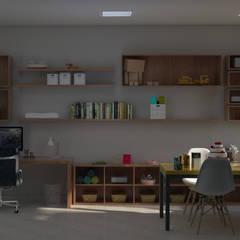 Atelier: Pavimentos  por Santi Arquitetura e Engenharia