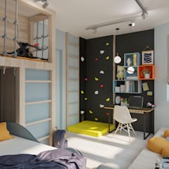 Teen bedroom by Buro19.1