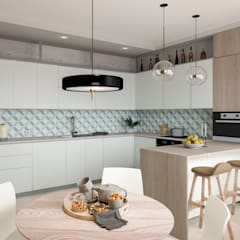 minimalistic Kitchen by Buro19.1