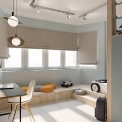 Habitaciones infantiles de estilo  por Buro19.1, Minimalista
