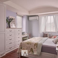 Bedroom by 芸匠室內裝修設計有限公司,