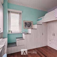 غرفة نوم تنفيذ 芸匠室內裝修設計有限公司