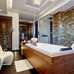 apartament Kraków : styl , w kategorii Spa zaprojektowany przez ANNA KOSMALA