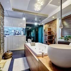 apartament Kraków : styl nowoczesne, w kategorii Spa zaprojektowany przez ANNA KOSMALA