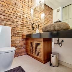 apartament Kraków : styl , w kategorii Łazienka zaprojektowany przez ANNA KOSMALA