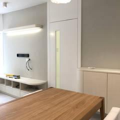 Salle à manger de style  par Nelson W Design