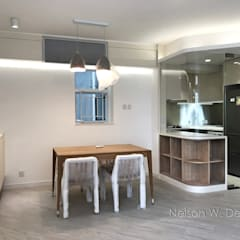 Illumination Terrace | Tai Hang Road | Hong Kong:  Dining room by Nelson W Design