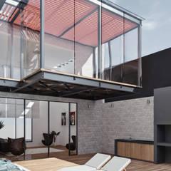 CASA ILO 2018: Terrazas de estilo  por TECTONICA STUDIO SAC