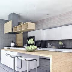 CASA ILO 2018: Cocinas de estilo  por TECTONICA STUDIO SAC